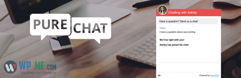 Pure Chat - Live Chat WordPress Plugin for Business Websites