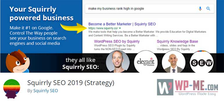 Squirrly SEO 2019 (Strategy) WordPress Plugin