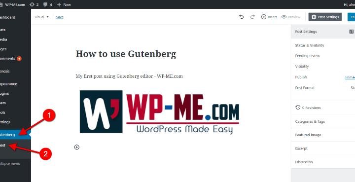 Gutenberg : How to use the New WordPress Gutenberg Editor