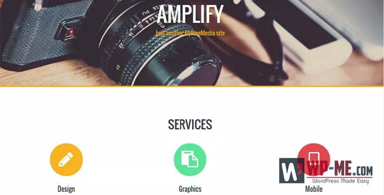 Amplify WordPress Theme