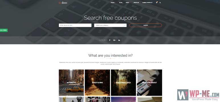 doo WordPress Affiliate Marketing Theme