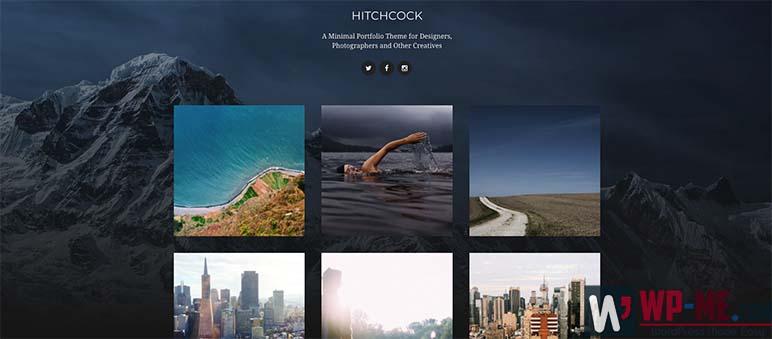 Hitchcock WordPress Theme for Photographers