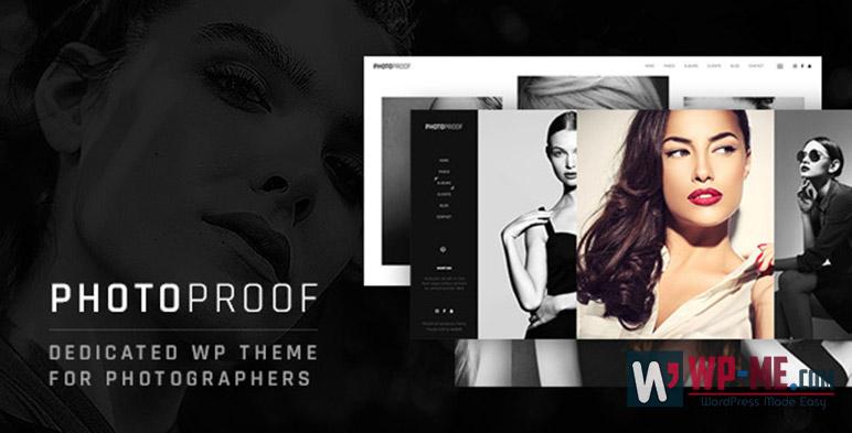 PhotoProof Photography Responsive WordPress Theme