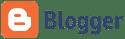 Start a blog - Blogger logo