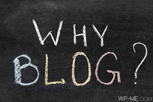 Why to Start a blog