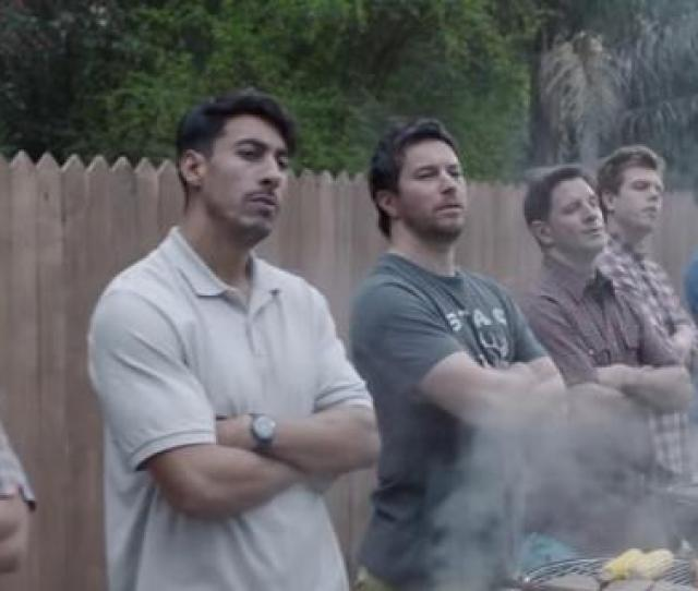 Screen Cap From The Gillette Ad