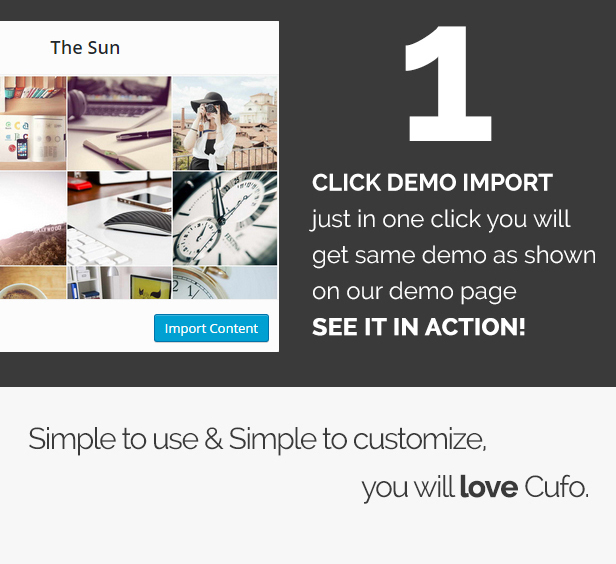 Cufo - Responsive WordPress Portfolio Theme - 2
