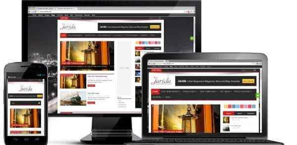 Fichiers .po et .mo de la traduction française du thème Jarida pour WordPress