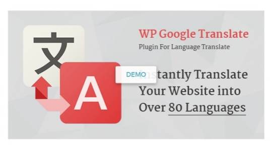 Fichiers .po et .mo de la traduction français de l'extension premium WordPress WP Google Translate