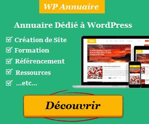 WP Annuaire est un répertoire de sites et services web dédiés à WordPress.