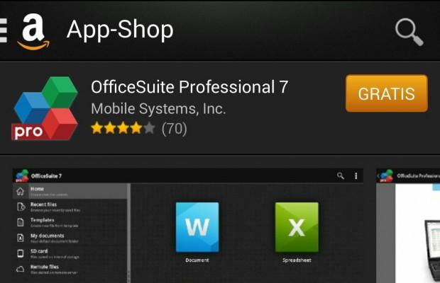 Amazon App Shop OfficeSuite