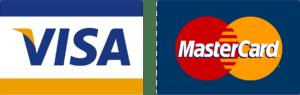 VISA and MasterCard Gladly Accepted