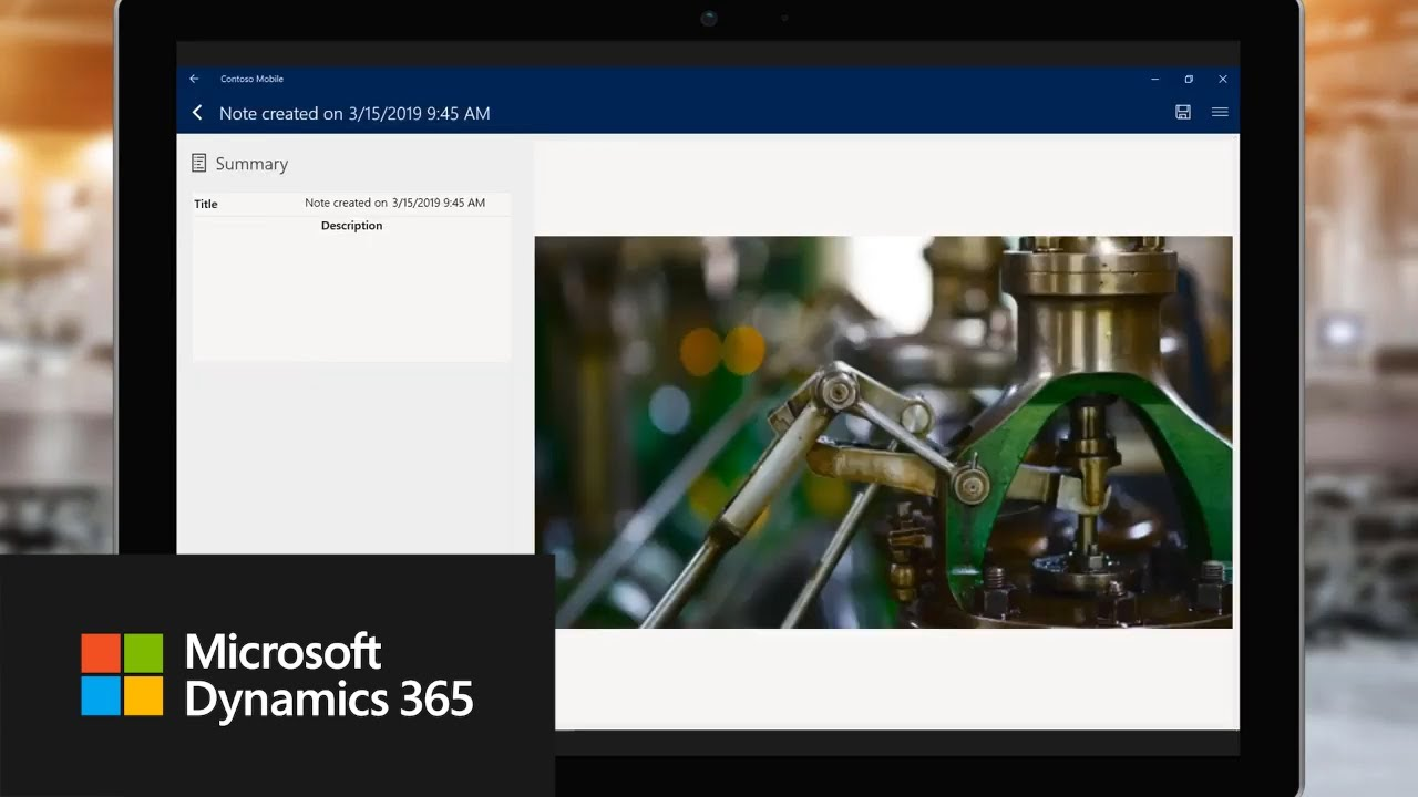 Microsoft Dynamics 365 Connected Field Service in Oil and Gas