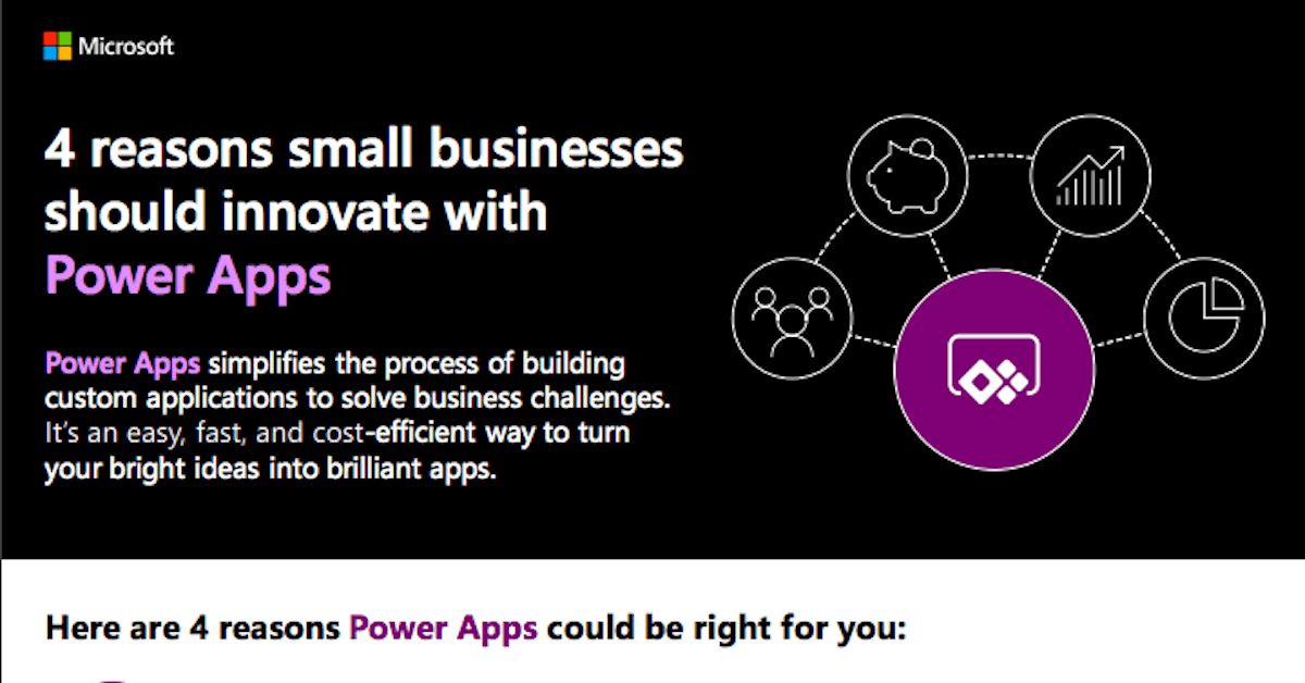 4 reasons small businesses should innovate with Power Apps