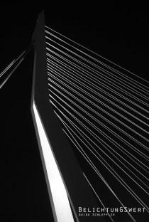 Erasmusbrücke / Ausschnitt