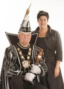 Prins Jan III en Prinses Chantal 2014