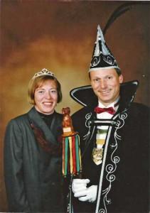 prinsbertenfiny 1995 Prinses Finy en prins Bert