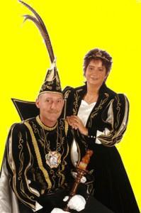 prinsenpaar2007 Prins Danny I en prinses Jenny