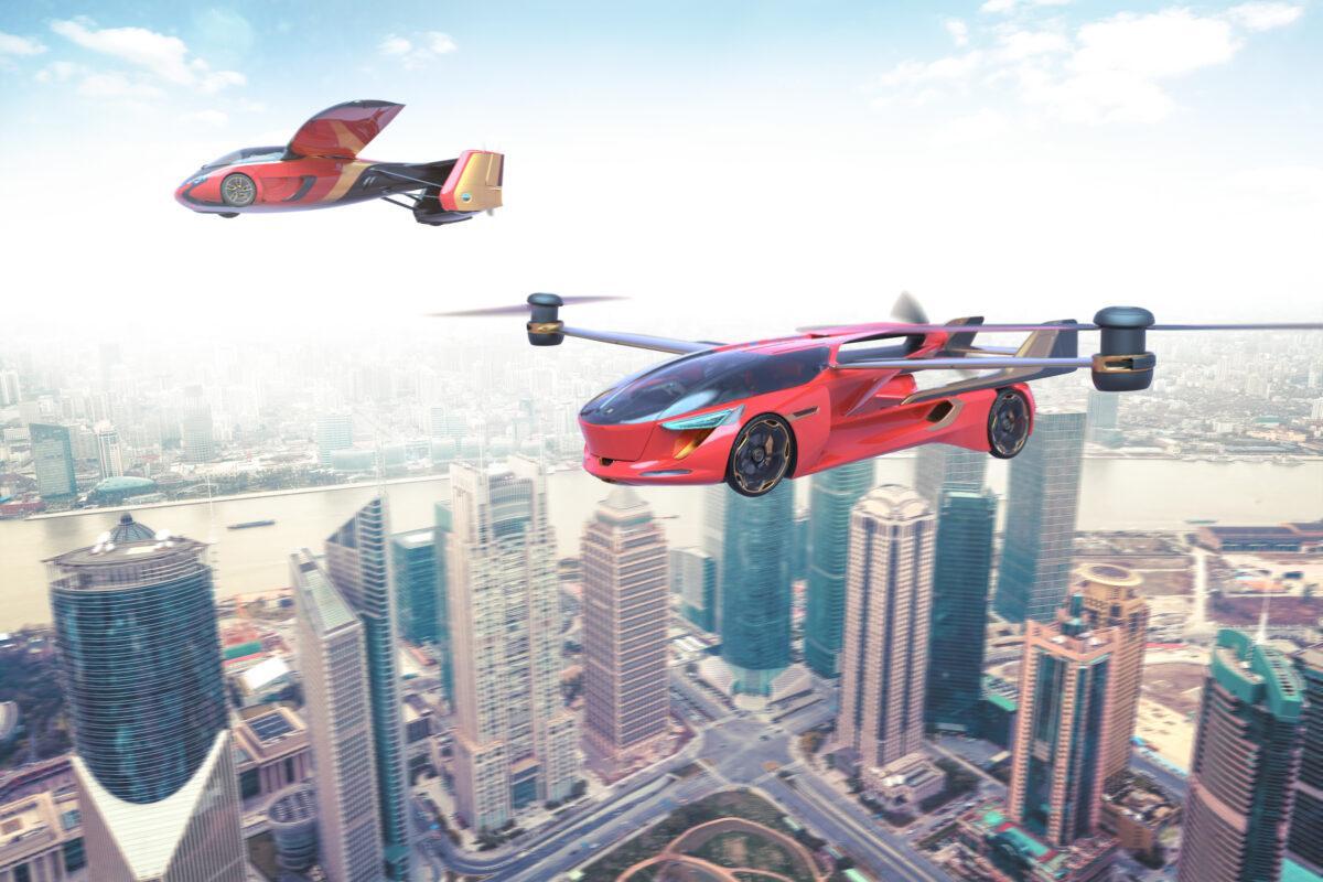 Sobrevolando el futuro: 16 autos voladores que se vienen…
