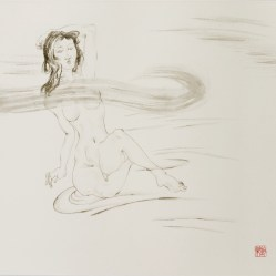 Nude and Waterflow