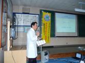 学校薬剤師 寺沢先生。