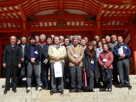 香取神社にて集合写真!