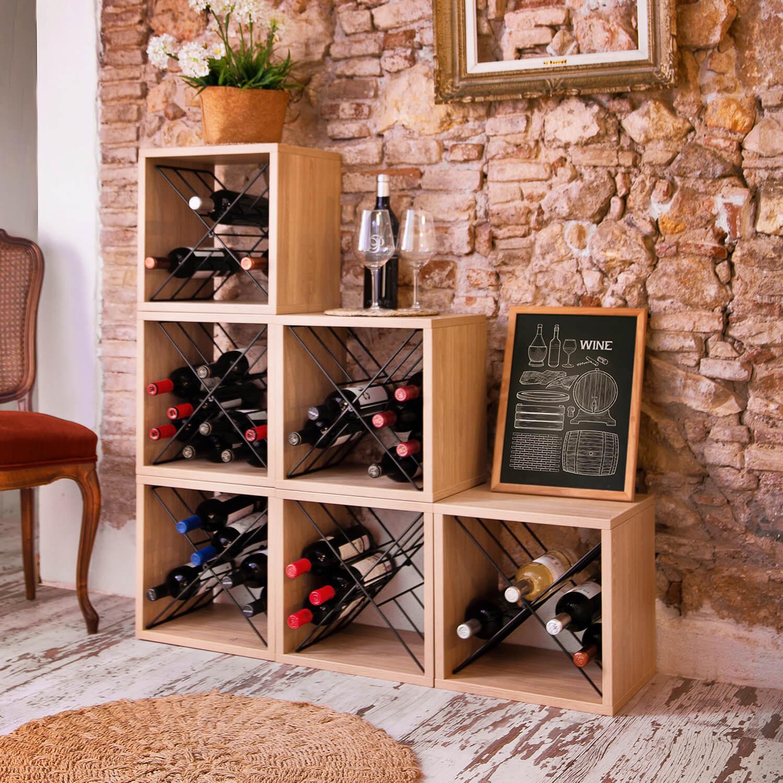 organisateurs bouteilles pour le vin et