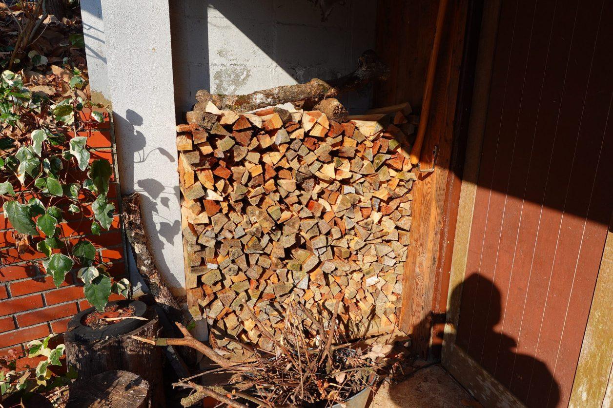 薪がいっぱい