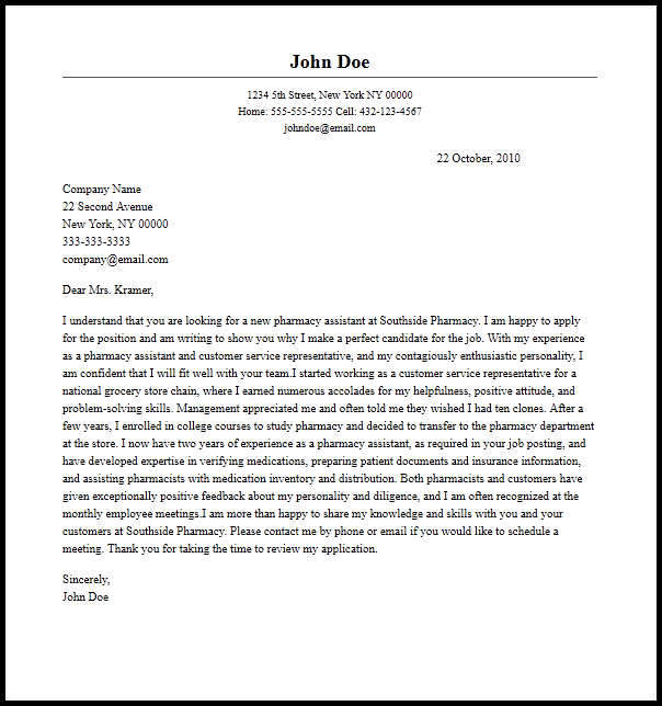 Image Led Write A Cover Letter For Receptionist Job 11