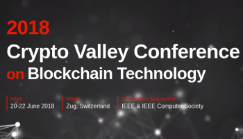 Crypto Valley Conference  2018 – Zug Suiza