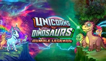 Rumble Legends Unicorns Vs. Dinosaurs, cripto juego desarrollado en Ethereum