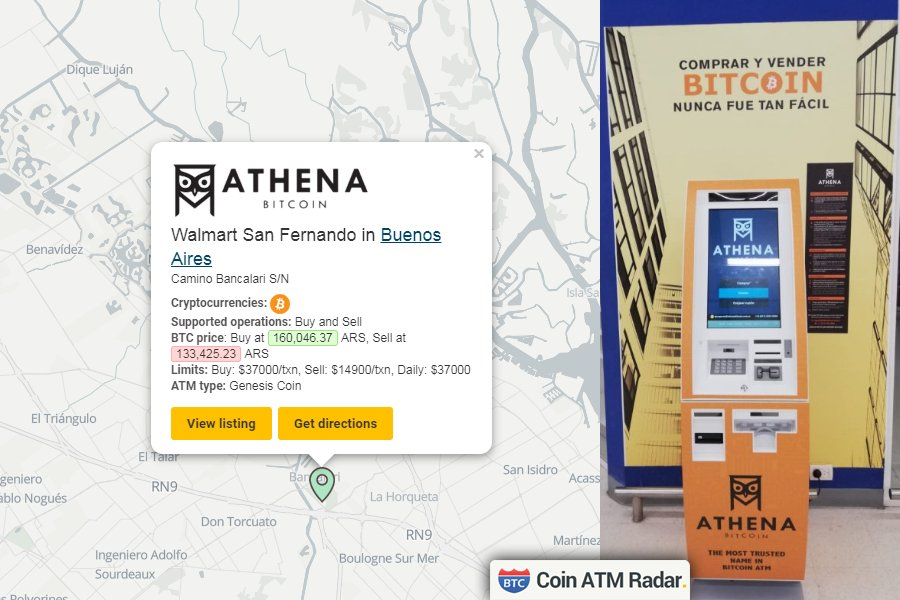 Los cajeros Bitcoin en Argentina ¿Dónde los ubico?