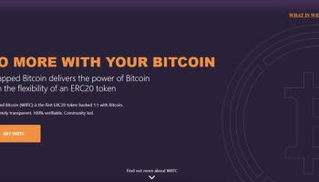 """Wrapped Bitcoin - """"El  poder de Bitcoin con la flexibilidad de un token ERC20"""""""