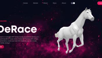 ¿Cómo invertir en DeRace? – Carreras de caballos con NFT