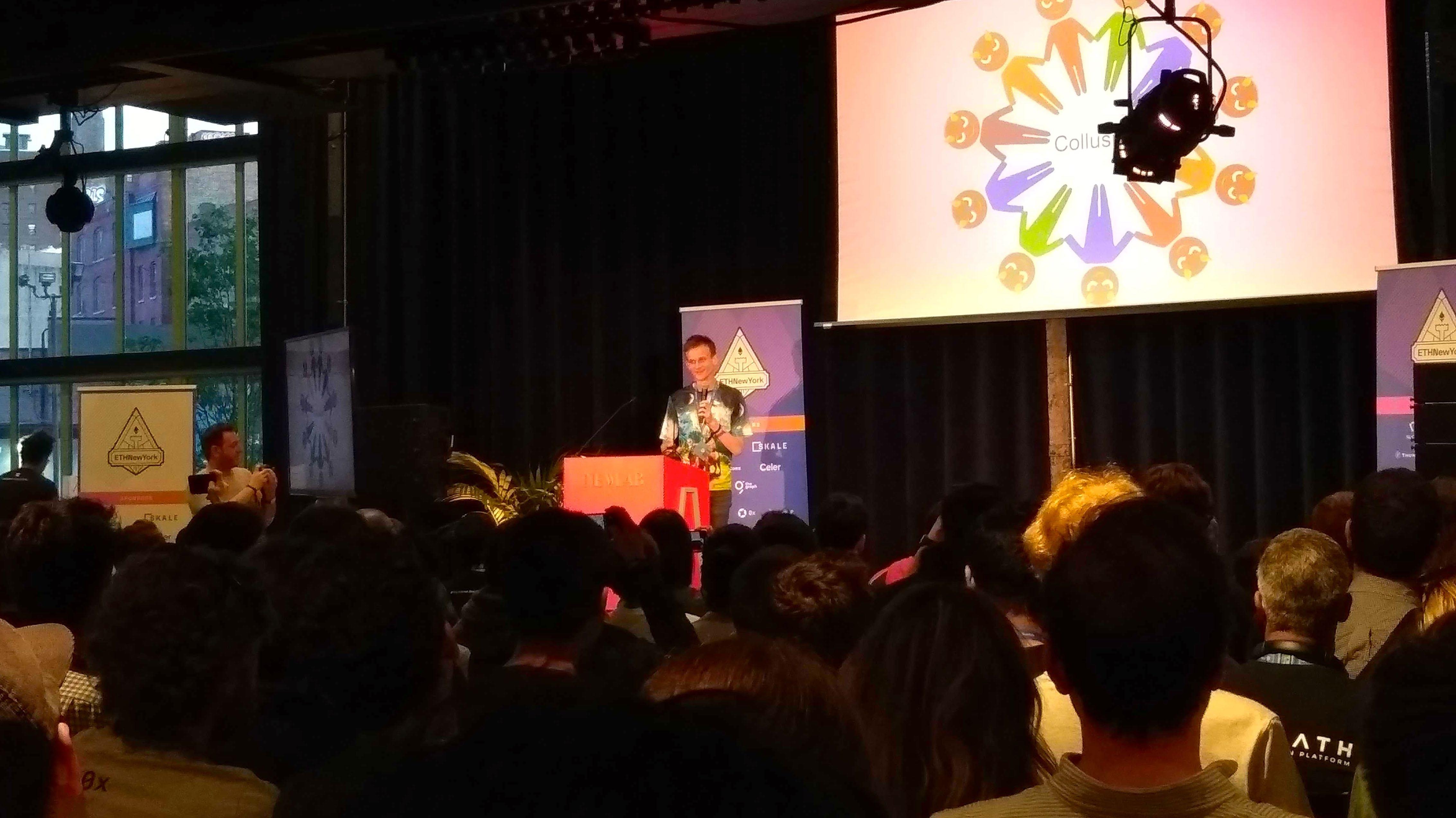 Live at ETH NY: It's Vitalik Buterin!