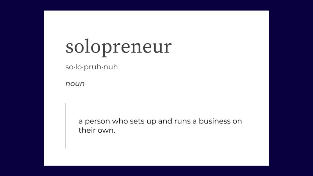 solopreneurs