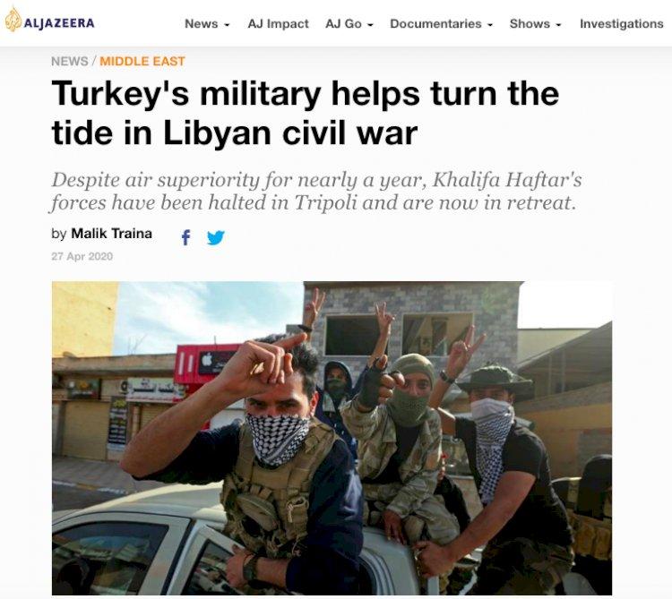 Türkiye'nin Libya Operasyonunun Dünya Basınında Övgüyle Bahsedildiği İddiası