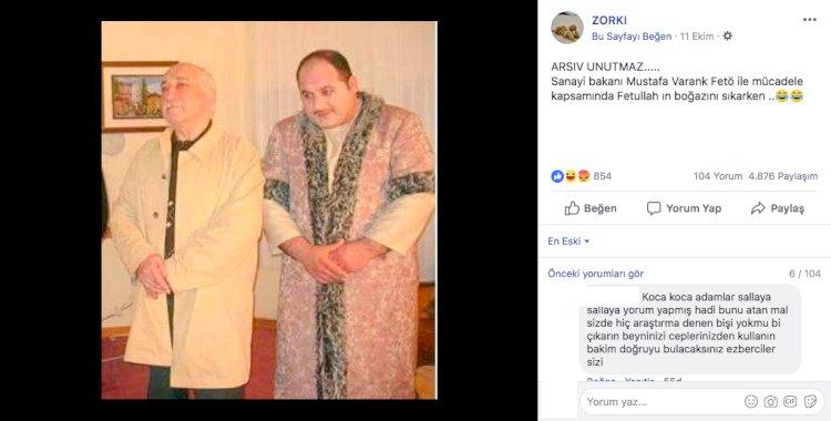 Mustafa Varank ile Gülen'in aynı fotoğrafta olduğu ile ilgili yalan haber