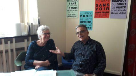 """Said Sougty, Parti marocain """"la voie démocratique"""""""