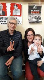 Avec Hélène Legeay, ACAT et Elliott