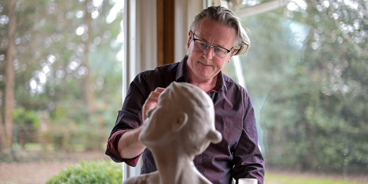 """Catholic sculptor is on a mission to """"save the world"""" through liturgical art"""