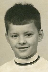 11 jaar, het haar is nu rechter gesneden (1969)