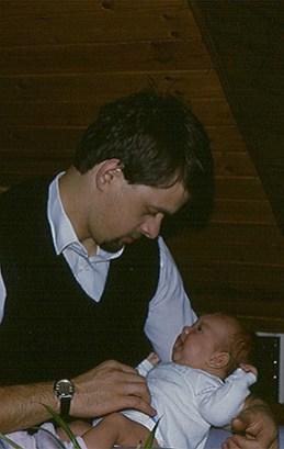 De eerste gezinsuitbreiding in 1985