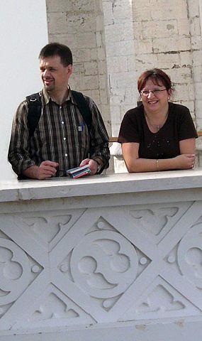 .. en nu in Lissabon (2006) NB: Gerty en vriend Thomas waren er ook bij (zie volgende foto)