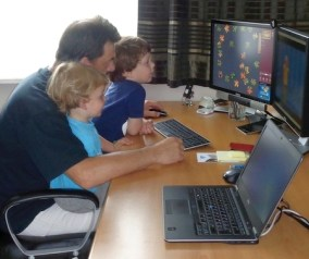 Luckyly PC with 2 screens (July 2014)