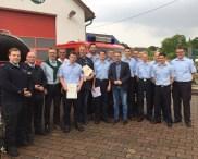 Ehrungen und Beförderungen bei der Feuerwehr Norheim