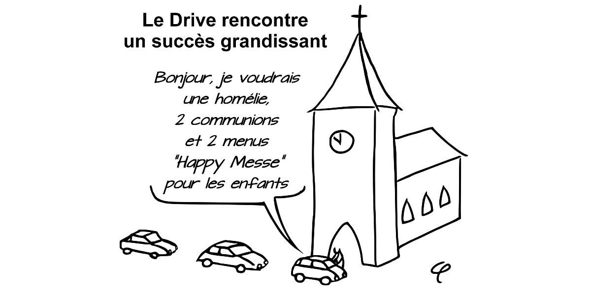 Bande-dessinées : humour et confinement, un prêtre sélectionné au festival d'Angoulême