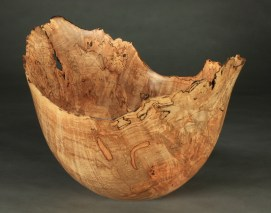 "Red Maple Burl 16.25"" x 12.75"" dia. x 11.25"" tall"