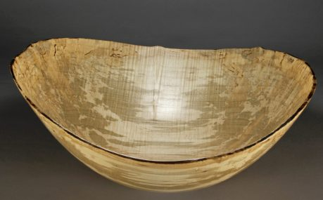 """A 31..... Silver Maple..... 17 1/2"""" x 14 1/2"""" dia. x 7 1/2"""" tall....$295 at Crozet Depot Gallery"""