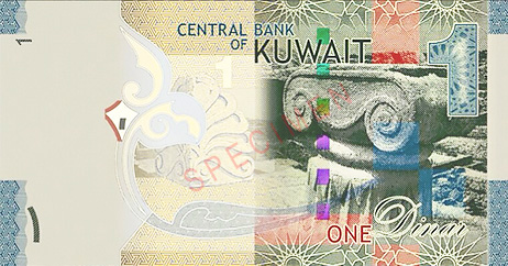 The most expensive currency in the world is Kuwaiti Dinar